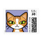Design Your Own Cartoon Cat Postage