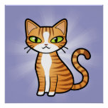 Design Your Own Cartoon Cat Poster