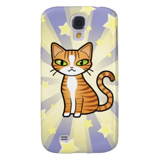 Design Your Own Cartoon Cat Samsung Galaxy S4 Cover