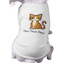 Design Your Own Cartoon Cat T-Shirt