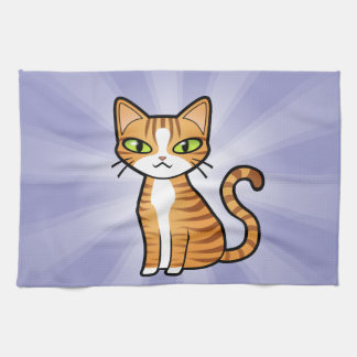 Design Your Own Cartoon Cat Towels