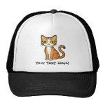Design Your Own Cartoon Cat Trucker Hats