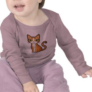 Design Your Own Cartoon Cat Tee Shirts