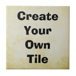 Design Your Own Ceramic Tile
