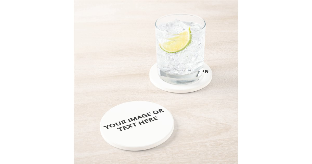 Design Your Own Coasters Drink Coaster Zazzle