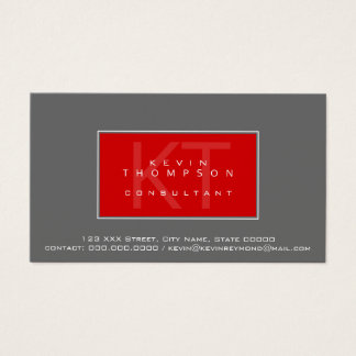 design your own consultant profissional standard business card