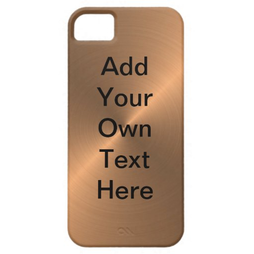 Design Your Own Copper iPhone 5 CoverIphone 4 Covers Design Your Own
