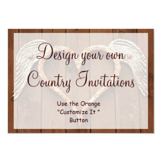 Design your Own Country Invitations Template