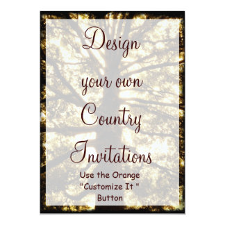 Design your Own Country Invitations Template Tree