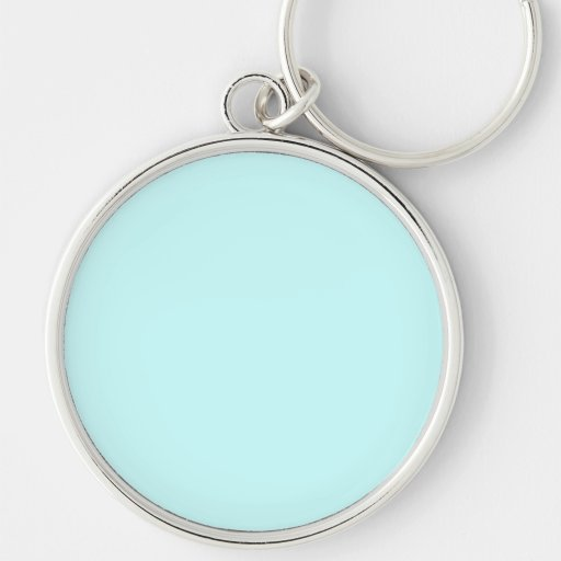 Design Your Own - Create Your Own Gift Silver-Colored Round Keychain