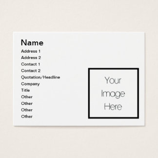 Design Your Own Custom Gift - Blank Business Card