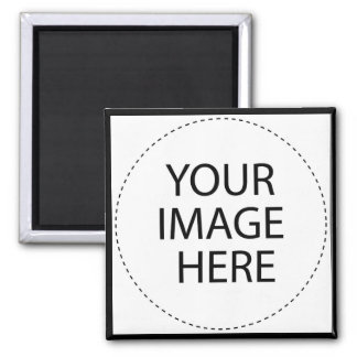 Design Your Own Custom Gifts - Blank 2 Inch Square Magnet