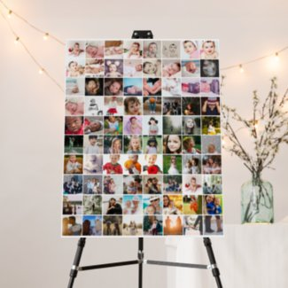 Design Your Own Custom Made Personalized 80 photo Foam Board