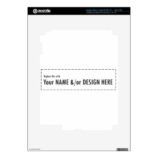 Design Your Own Custom Personalize Name Design Decal For iPad 3