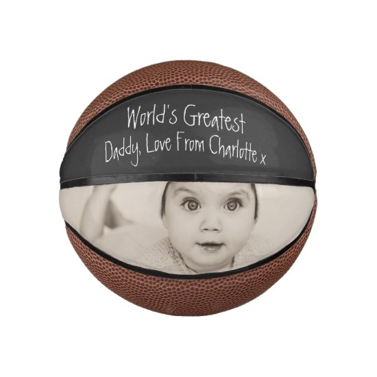 Design Your Own Custom Personalized Fathers Day Basketball