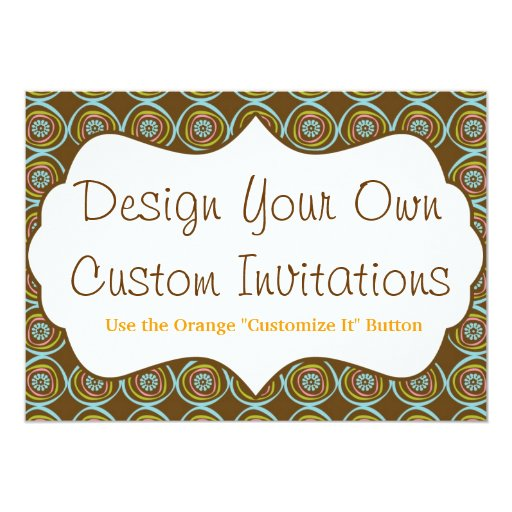 how to make custom invitations on your own