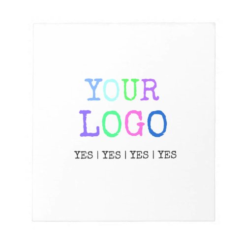 Design Your Own Custom Personalized Logo Notepad