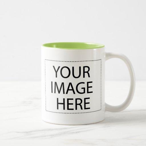 Design Your Own Custom Printed Coffee Mug Green