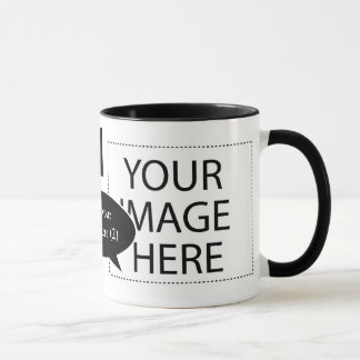 Design Your Own Custom Speech Bubbles Coffee Mugs