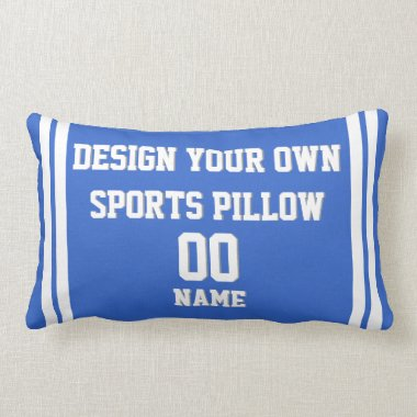 Design Your Own Custom Sports Pillow