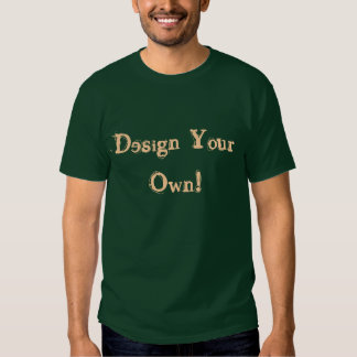 Design Your Own Deep Forest T Shirt