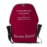 Design your own Designer  Rickshaw Messenger Bag