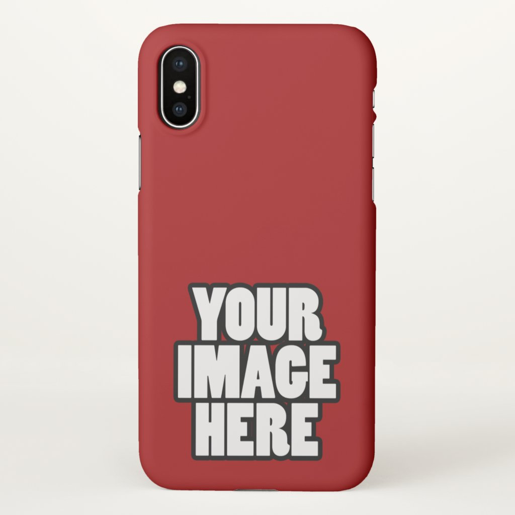 Design Your Own Easy To Customize iPhone X Case