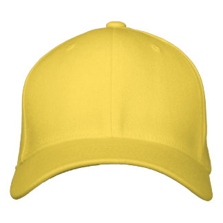 Design Your Own Embroidered Cap - Lemon