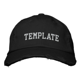 Design Your Own Embroidered Hat