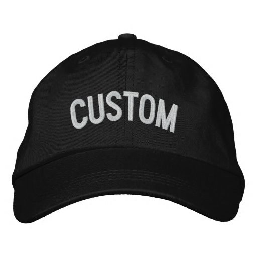 34fbc757bac Design Your Own Embroidered Hat