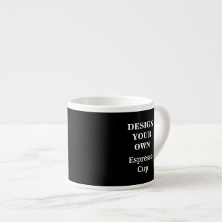 Design Your Own Espresso Cup - Black