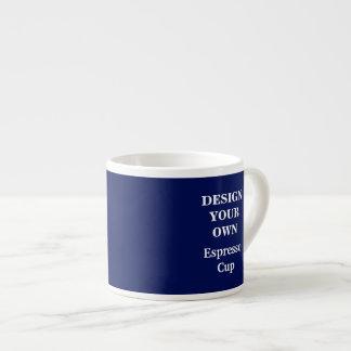 Design Your Own Espresso Cup - Blue