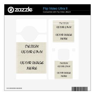 Design Your Own Flip Video Ultra II, Ultra or Mino Flip Video Ultra II Decal