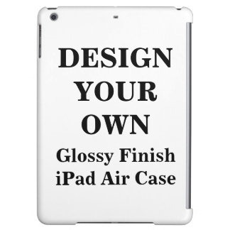 Design Your Own Glossy Finish iPad Air Case