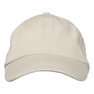 Design Your Own Hat (Stone) Embroidered Hat
