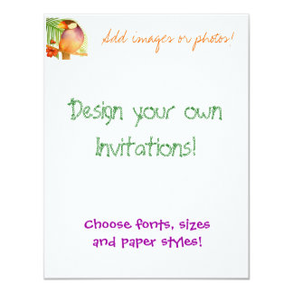 Design your own Invitations! Card