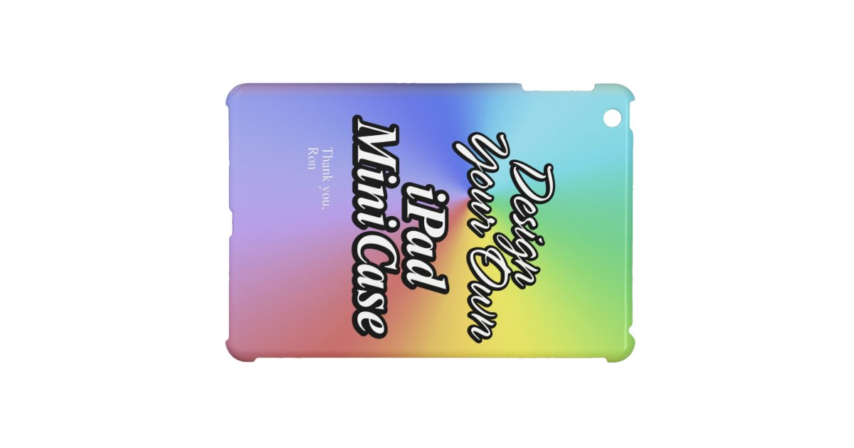 Design Your Own Ipad Mini Case Zazzle