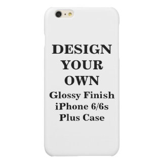 Design Your Own iPhone 6/6s Glossy Finish Plus Glossy iPhone 6 Plus Case