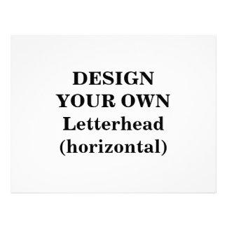 Design Your Own Letterhead (horizontal)
