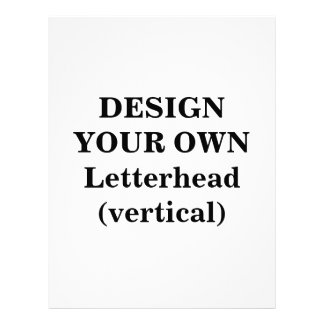 Design Your Own Letterhead (vertical)