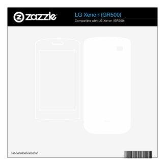 Design your own LG Xenon (GR500) Skin For The LG Xenon