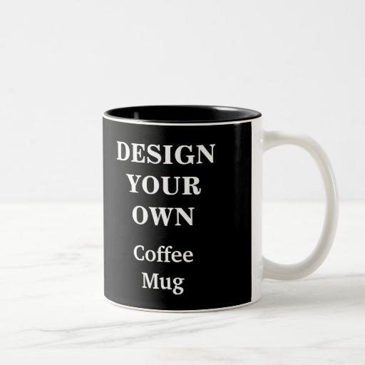 Design Your Own Mug - Black