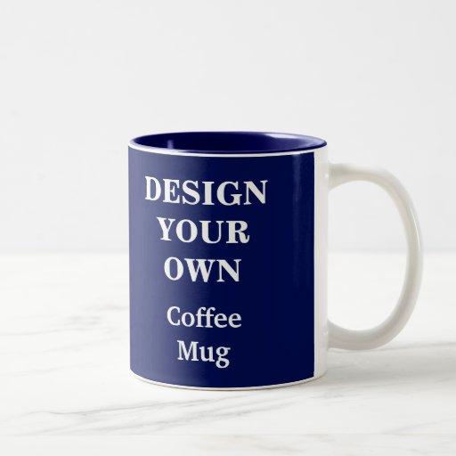 Design Your Own Mug Blue Zazzle