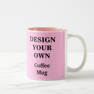 Design Your Own Create Your Own Coffee Mugs Zazzle