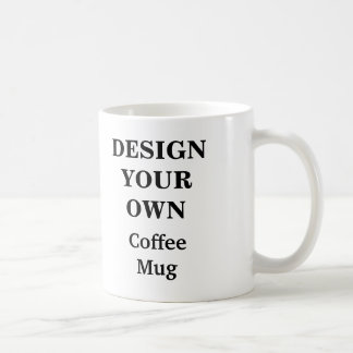 Design Your Own Mug - White