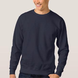 Design Your Own Navy Blue Embroidered Sweatshirt