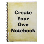 Design Your Own Note Book