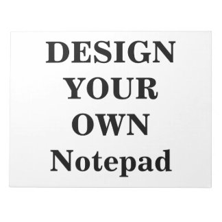 """Design Your Own Notepad (11"""" x 8.5"""")"""