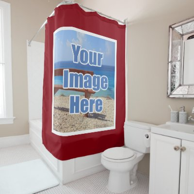 Amazing Create Your Own Shower Curtain | Zazzle.com