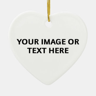 Design Your Own Ornament (Heart-Shaped)